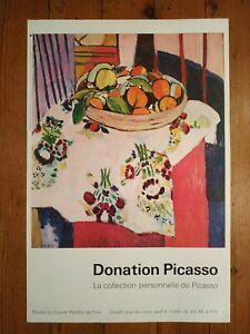 Affiche poster Donation Picasso - Musée du Louvre - Henri Matisse