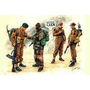 Master Box 03512 1/35 British Troops Caen 1944 Brand New