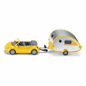 Siku Car With Caravan Die Cast Toy