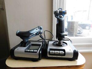 Saitek x52 Joystick and Throttle, HOTAS, USB