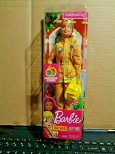 Barbie Careers 60th Anniversary Firefighter Doll 12'' 2018 NEW