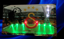 Galatasaray 1905  (GS) Bild lein Wandbild Leuchtbild LED Leuchte Löwe