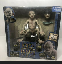 The Lord of the Rings Return of the King Electronic Talking Gollum Smeagol Heads