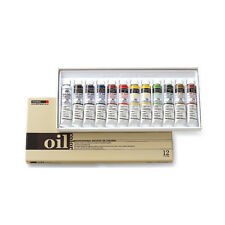 Oil Color Paint Set Shinhan Professional 12 Colors 20ml Tube Artist Drawing