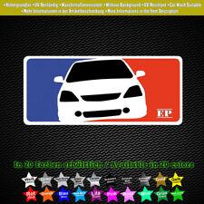 Honda Civic EP Sticker MLB-style TYPER i-VTEC DOHC JDM 15 cm x 7 cm