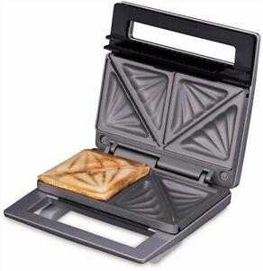 Cloer Sandwichtoaster Sandwichmaker 6219 Silber