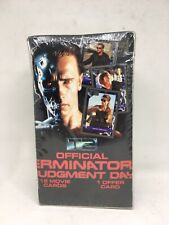 1991 Impel Terminator Judgment Day T2 Movie Card Box