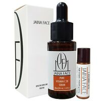 Reines Vitamin C 20% Serum Gesichts besten Antifalten Hyaluronsäure Akne 30ml