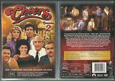 CHEERS COMPLETE SEASON TWO TED DANSON SHELLEY LONG RHEA PERLMAN NEW 3 DVD SET