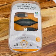 NEW Belkin Easy Transfer Cable For Windows Vista 8 Foot Cable