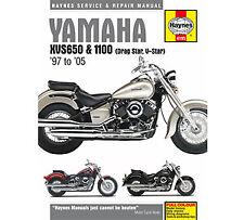 4195 Yamaha XVS650 1100 Haynes Workshop Service Manual Drag V Star 1997-2005