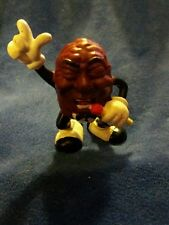 1987 calrab California Raisins Figure - singing mic