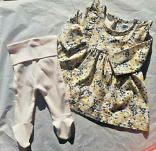 Beautiful Baby Girl Outfit - Tunic and Leggings 0000