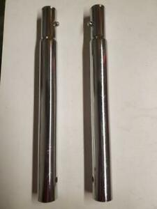 """Lot of 2 Uline H-5033 10"""" Height Extenders for H-1978 Z-Rack"""