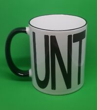 New Rude Cheeky-Cunt mug novelty funny humours 11oz free gift box swear word cup