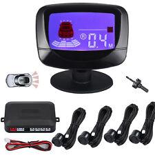 Auto KFZ LCD Display Einparkhilfe mit 4 Sensoren Rückfahrwarner Parkhilfe PDC