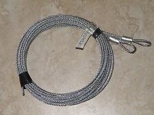 Garage Door Replacement Cables for 7' high door - Extension Springs
