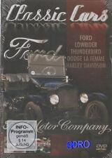 DVD + FORD + Harley Davidson + Dodge + Lowrider + Automobilgeschichte Liebhaber