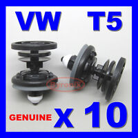TRANSPORTER DOOR CLIPS T5 T6 PANEL CARD TRIM INTERIOR FRONT VW FIXING QUALITY 10