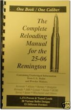 .25-06 Remington Reloading Manual Loadbooks Usa ! 25-06 Latest Edition New