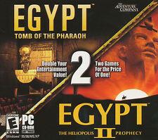 EGYPT 1 & 2 Tomb of the Pharoah & Heliopolis NEW in BOX