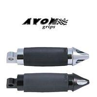 Avon Custom Spike Folding Motorcycle Footpegs Electra Glide Roadster Harley
