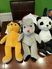 Large Sooty,  Sweep & Sue Soft Toys - 19ins - Excellent