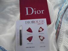 DIOR 4 PROBEN Rouge Ultracare 4 Farben zum Testen