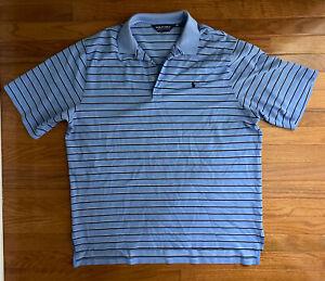 Men's RALPH LAUREN POLO GOLF Striped Polo Shirt Size XL