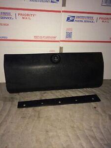 DATSUN 620 GLOVE BOX DOOR COLOR Black OEM
