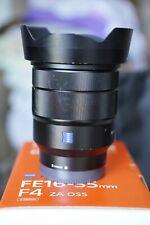 Sony FE Zeiss Vario-Tessar 16-35/4 et filtre 72mm
