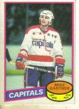 1980-81 O-PEE-CHEE - MIKE GARTNER ROOKIE CARD!