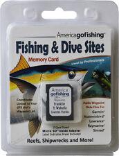 Franklin & Wakulla Counties Fishing & Dive Sites Memory Card