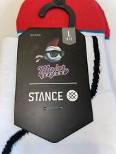 STANCE THE OFFICE BOB VANCE REFRIGERATION SOCKS SIZE L NEW WITH TAGS