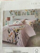 Ted Baker ELEGANT BLUSH King 228x218cm plus 2 pillow cases Brand  NEW in pack/