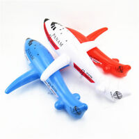 1Pc Inflatable Aeroplane Blow Up Airplane Child Toy Party Decoration 2 Sizes