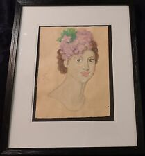Manner of Tamara de Lempicka (Polish) Watercolor