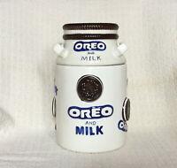Houston Harvest KF Holdings, Inc. Milk And Oreo Milk Can Cookie Jar Item 31898