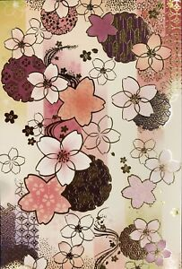 Greeting Card - Cherry Blossom - Blank - Made In Japan  F/S
