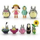 9pcs Cake Topper Studio Ghibli My Neighbor Totoro Spirited Away Collection Gift