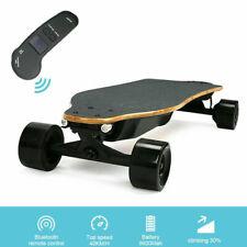 US Kids Adult 600W Dual Motors 38'' Electric Skateboard 24MPH Longboard w/Remote
