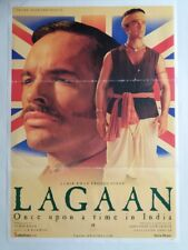 NEW BOLLYWOOD MOVIE POSTER- LAGAAN ONCE UPON A TIME IN INDIA ,AMIR KHAN/ 2001
