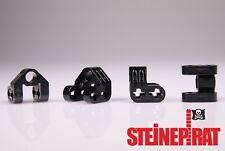 LEGO® 4x 92907 (-NEU-) Verbinder / Pin / Kreuzachse / Winkel / schwarz / 4610371