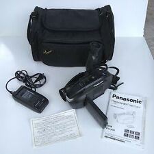 Panasonic Palmcorder Palmsight Camcorder PV-L659 Bundle w/ Padded Duffle Bag