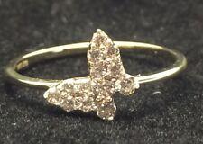 10 Karat Yellow Gold Butterfly Ring 14591-1