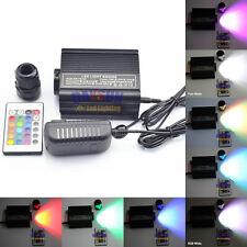RGBW LED Fiber Optic Ceiling Light Kit+24IR Remote + 400pcs*0.75mm*2m