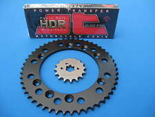 SUZUKI DR125 SM   HEAVY DUTY CHAIN AND SPROCKET KIT SET  2008 - 2013