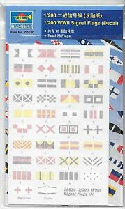 Trumpeter WWII Signal Flags (USS Missouri) in 1/200 6630 ST