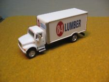 Ho 1/87 Scale Custom 84 Lumber Box Van Truck With Logo # 2 a 4 Photos