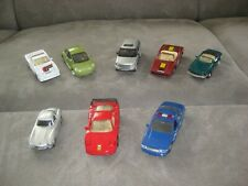 Hot Wheel - 8 Autos - Modellautos - Ferrari F 40 - Camaro - Mercedes - Police